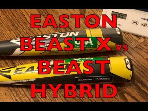 2018 Easton Beast X USA Baseball Bat vs Beast X Hybrid USA Bat Comparison Review