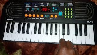Raja Raja Kareja Mein Samaja Piano