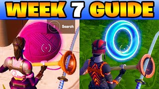 ALL WEEK 7 CHALLENGES GUIDE FORTNITE CHAPTER 2 SEASON 3