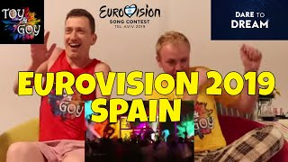Spain Eurovision 2019 Live Performance - Reaction