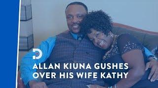 Bishop Allan Kiuna expresses his appreciation for his wife, Rev Kathy Kiuna
