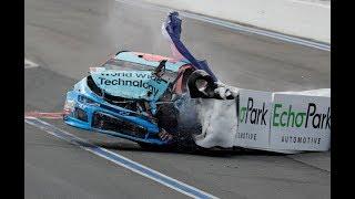 Top 60 NASCAR Crashes of the 2018 Season