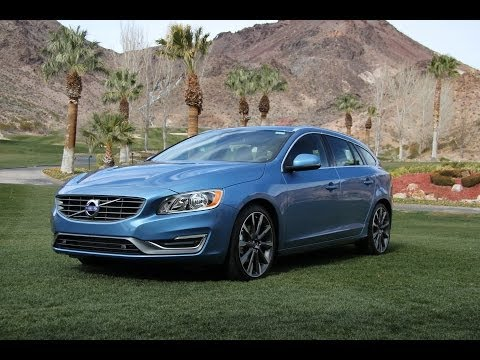 2015 Volvo V60 Sport Wagon Review & Road Test