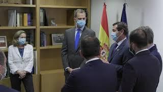Reunión de S.M. el Rey con los presidentes de las Patronales Autonómicas y equipo directivo - CEOE