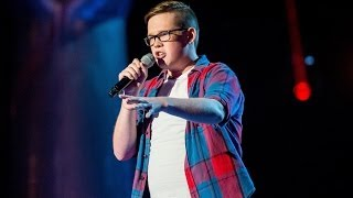 Tom Barnwell performs 'American Boy' - The Voice UK 2014: Blind Auditions 7 - BBC One