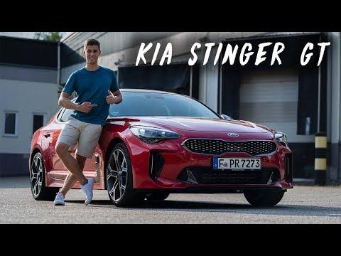 KIA STINGER GT im Test - Warum der Stinger mit dem 366 PS starkem V6 so ein verdammt gutes Auto ist!