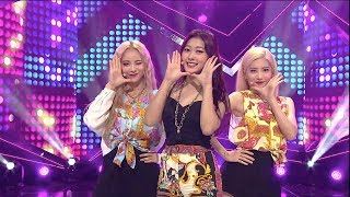 《HOT》 LOONA/ODD EYE CIRCLE – Girl Front 이달의 소녀 at Inkigayo 171015