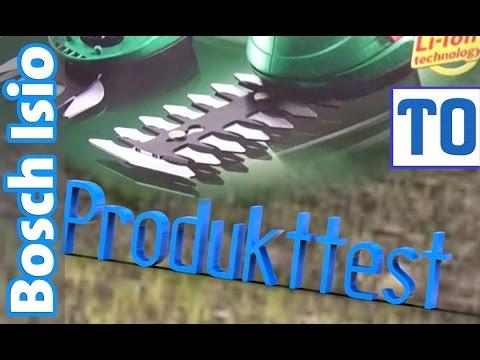 Produkttest Bosch Isio | elektrische Akku Rasenkantenschere