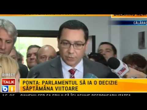 Ponta promite ca legea maidanezilor va fi adoptata in Parlament