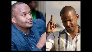 Charles Njagua  issues an apology  to Babu Owino after their fight in Parliament