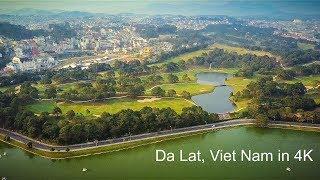 Dalat, Viet Nam - drone DJI Mavic Pro footage 4K