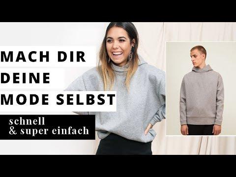 für absolute Anfänger I Step-by-step Nähanleitung I Sweatshirt Männer & Frauen I DIY