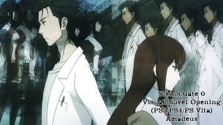 Steins;Gate 0 Visual Novel Opening (PS3/PS4/PS Vita) - Amadeus