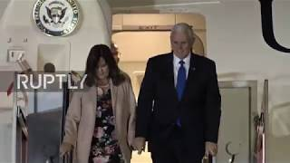 Japan: Pence arrives in Japan for Abe talks ahead of ASEAN and APEC summits