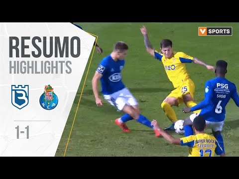 Highlights | Resumo: Belenenses 1-1 FC Porto (Liga 19/20 #13)