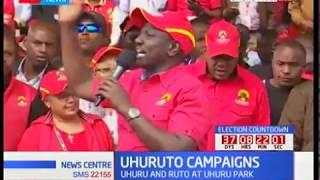 Jubilee leaders hold campaigns at Uhuru Park
