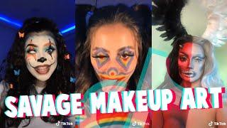 Savage Makeup Art On TikTok