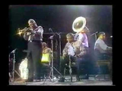 Preservation Hall Jazz Band Down In Honky Tonk Town online metal music video by WILLIE HUMPHREY