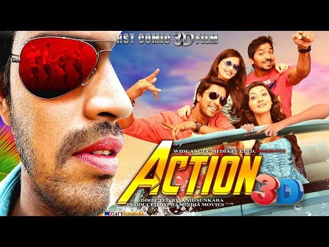Action 3D (2018)   New Released Full Hindi Dubbed Movie   South Indian Dubbed Movies 2018 Full Movie