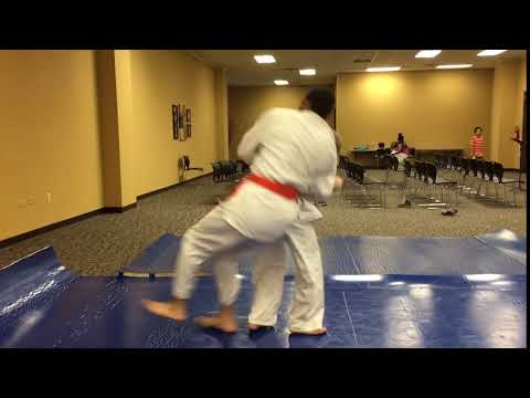 An old video of me teaching a young student a roll-through counter to the ippon seio nage.