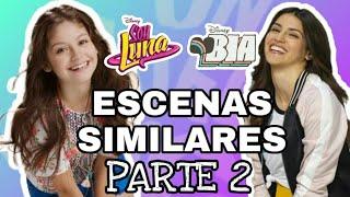"""Soy Luna y Bia Escenas Similares """"Parte 2"""" - Disney Bryan"""