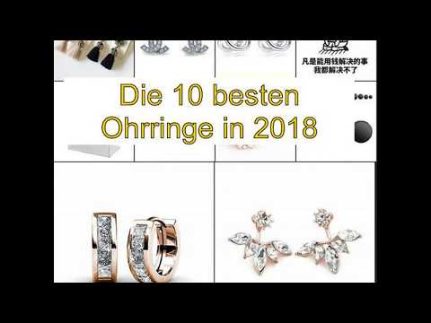 Die 10 besten Ohrringe in 2018