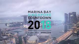Marina Bay Singapore Countdown 2018 Highlights