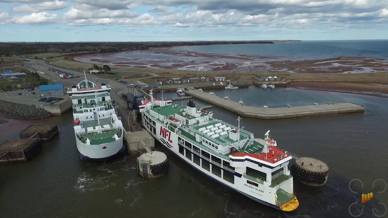 Northumberland Ferries Holiday Island Docking