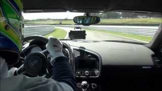 Testando novos freios em Interlagos com Audi R8 V10