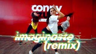 Imaginaste (Remix)   Jhay Cortez Ft. Wisin Y Yandel  | Coreografía Violeta