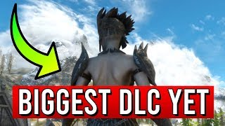 Skyrim The BIGGEST DLC Yet - Saints and Seducers Review (Creation Club Mods)