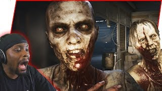 They're Everywhere! The Struggles Of Fighting  Zombies! - The Walking Dead Gameplay