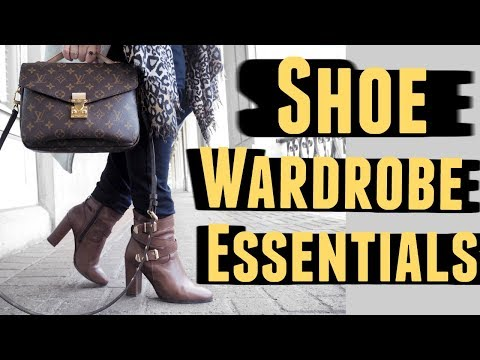SHOE ESSENTIALS FOR EVERY WARDROBE: Tips From A Stylist Mp3