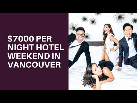 VANCOUVER/RICHMOND LUXURY WEEKEND - TRAVEL VLOG by Istiana (видео)
