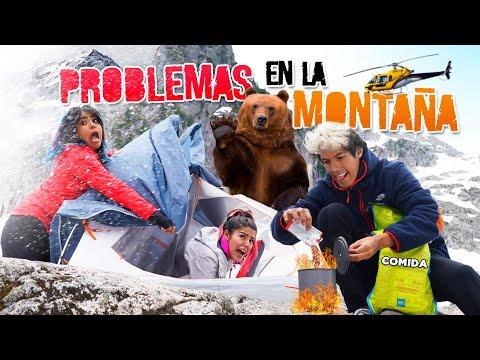 ACAMPANDO EN LA MONTAÑA CONGELADA | POLINESIOS VLOGS