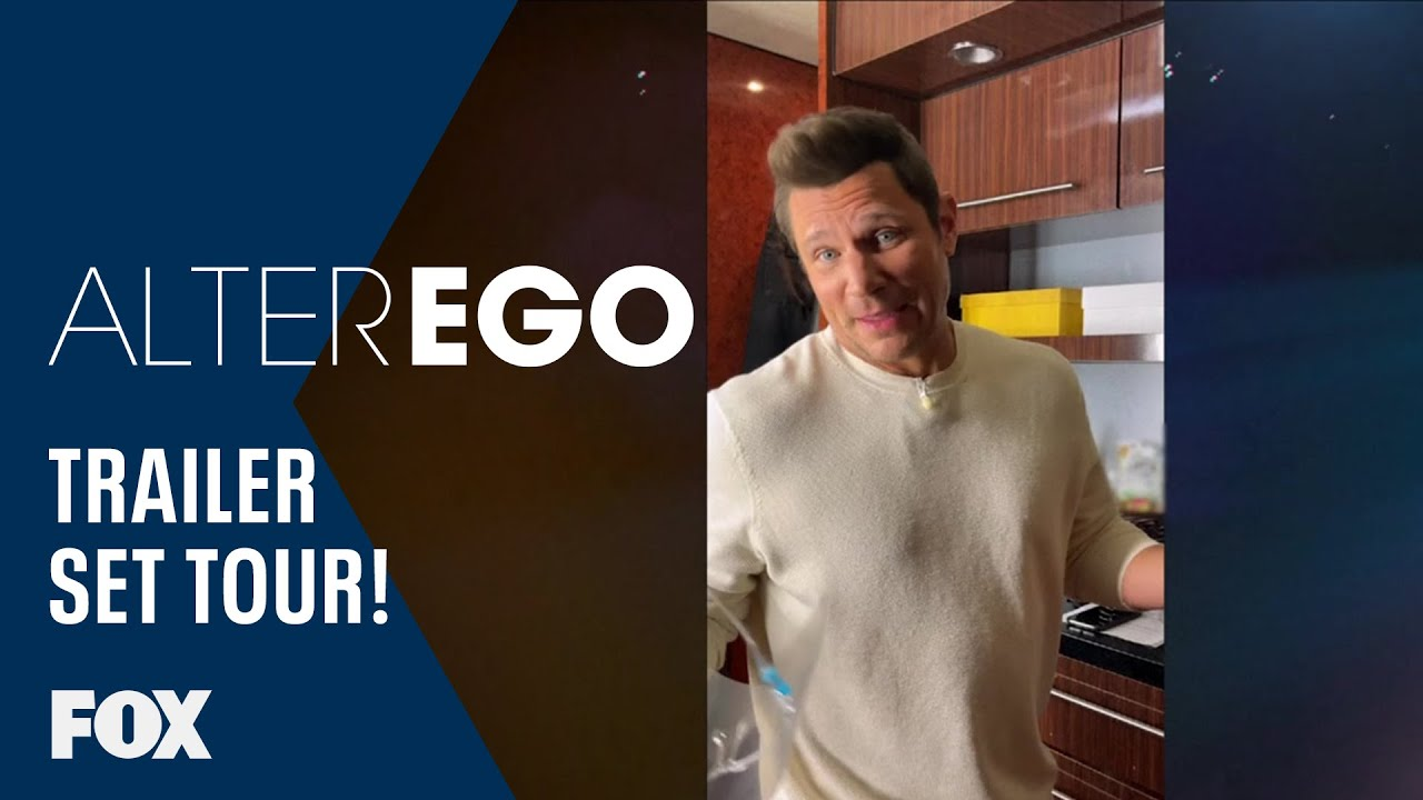 Exclusive Look Inside Nick Lachey's Set Trailer! | ALTER EGO