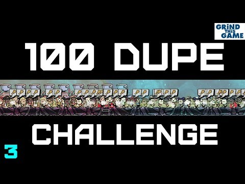 100 Dupe Challenge - Oxygen Not Included - #3 (cycle 30-45, 17 dupes)