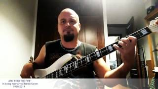 "Charly Rivera ARK ""FEED THE FIRE"" Bass cover"