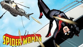 Does Spider-Woman have 8 legs?!