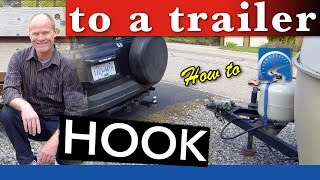 How to Hook to A Trailer with a Ball Hitch | Trailering SMART