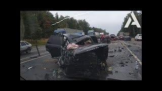 Подборка ДТП 2018, аварии за декабрь. Жесткие реалии на дорогах. Видеорегистратор спалил  #45