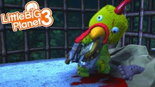 THE CHICKENMAN WANTS TO GET SACKBOY! | LittleBIGPlanet 3 Gameplay (Playstation 4)