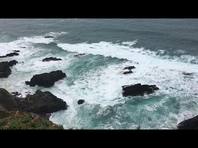 Küstenpanorama in Nordspanien bei Picon