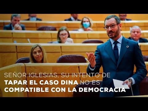 """""""Señor Iglesias, su intento de tapar el caso Dina no es compatible con la democracia"""""""