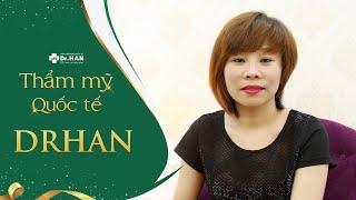 Cảm nhận của chị Trần Hiền khi thực hiện Căng da mặt bằng chỉ không tiêu