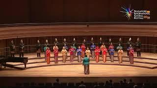 Vocalista Harmonic Choir ISI Yogyakarta, Indonesia - Tari Indang ( West Sumatra Folk Song)