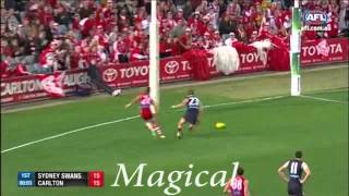 Afl 2014 season Favorite song choice 'Bound for Glory' by Angry Anderson