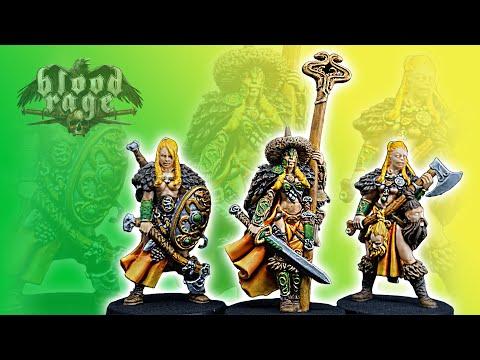 Painting Blood Rage Ep. 5 - Serpent Clan