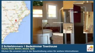 preview picture of video '2 Schlafzimmern 1 Badezimmer Townhouse zu verkaufen in Country House, Benferri, Alicante, Spain'