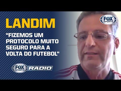 FLAMENGO: LANDIM REVELA COMO CLUBE SE PREPARA PARA O RETORNO DO FUTEBOL!
